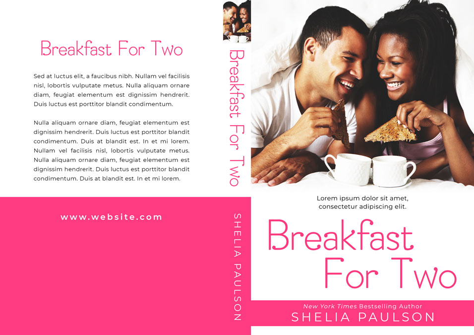 Breakfast For Two - African-American Romance Premade Book Cover For Sale @ Beetiful Book Covers