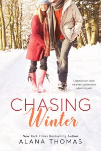 Chasing Winter - Winter Romance Premade Book Cover For Sale @ Beetiful Book Covers