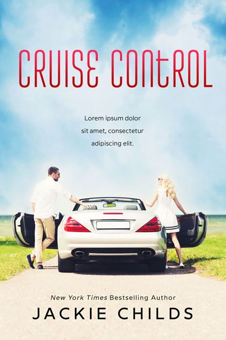 Cruise Control - Chicklit Romance Premade Book Cover For Sale @ Beetiful Book Covers