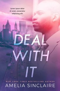 Deal With It - African-American Premade Book Cover For Sale @ Beetiful Book Covers