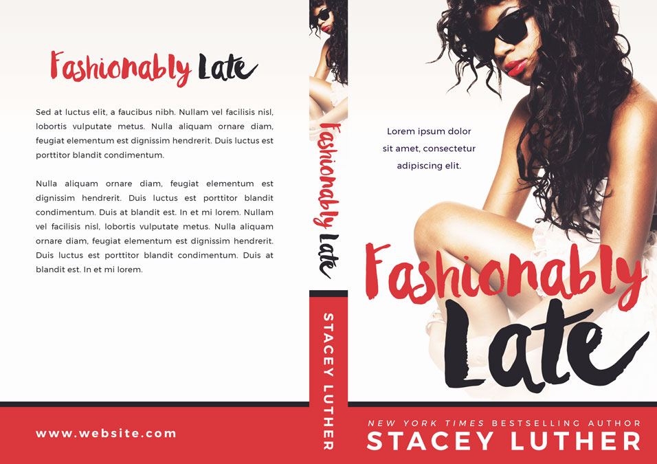 Fashionably Late - African-American Premade Book Cover For Sale @ Beetiful Book Covers