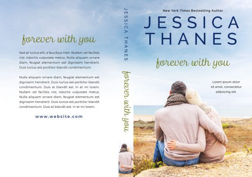 Forever With You - Winter Romance Premade Book Cover For Sale @ Beetiful Book Covers
