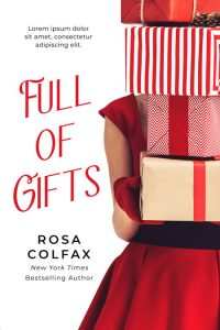 Full of Gifts - Christmas Premade Book Cover For Sale @ Beetiful Book Covers