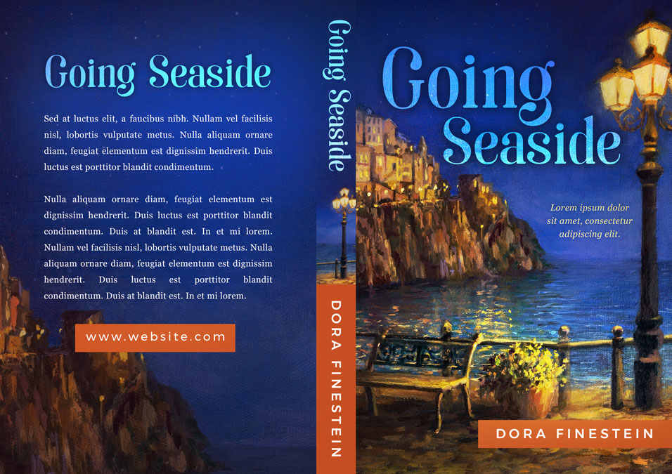 Going Seaside - Women's Fiction / Romance Premade Book Cover For Sale @ Beetiful Book Covers