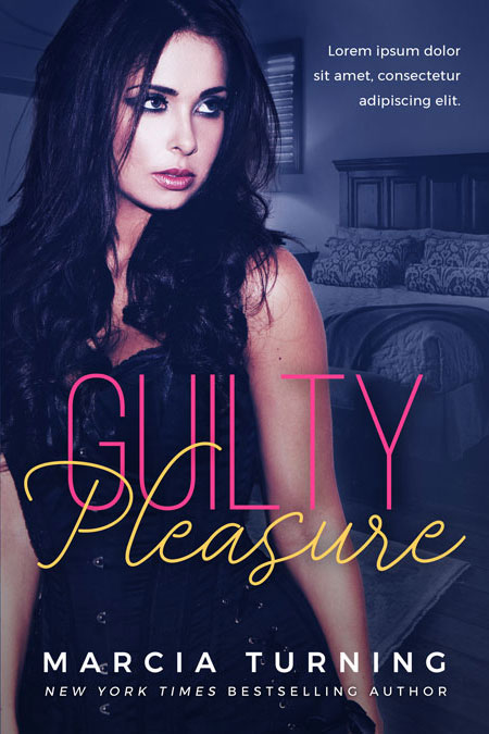 Guilty Pleasure - Steamy Romance Premade Book Cover For Sale @ Beetiful Book Covers