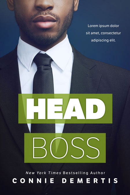 Head Boss - African-American Premade Book Cover For Sale @ Beetiful Book Covers