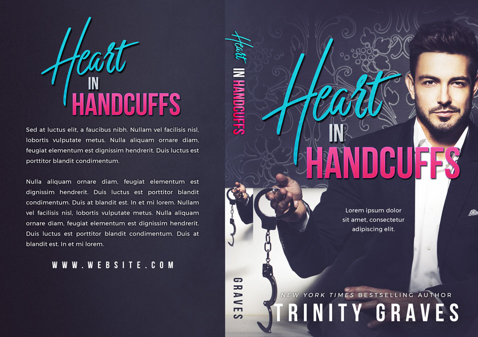 Heart In Handcuffs - Steamy Romance Premade Book Cover For Sale @ Beetiful Book Covers