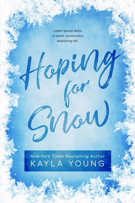 Hoping For Snow - Winter Premade Book Cover For Sale @ Beetiful Book Covers