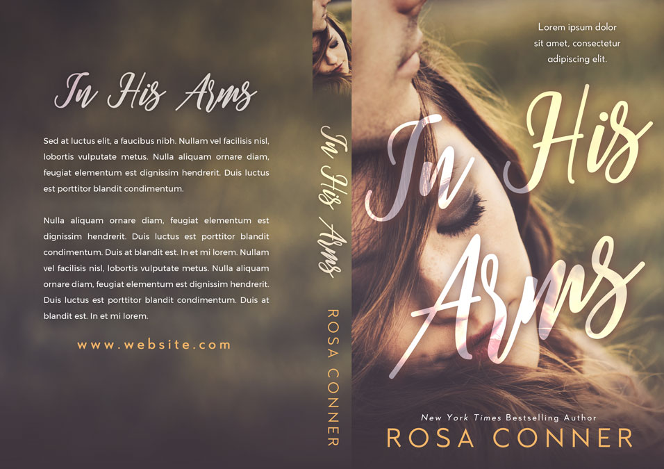 In His Arms - Young Adult Romance Premade Book Cover For Sale @ Beetiful Book Covers