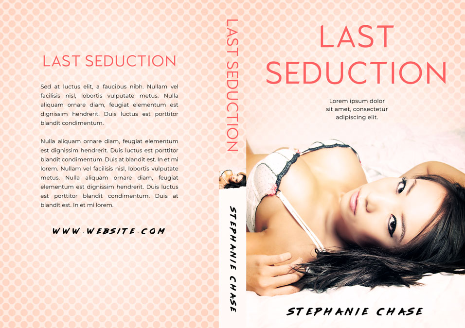 Last Seduction - Asian-American Steamy Romance Premade Book Cover For Sale @ Beetiful Book Covers
