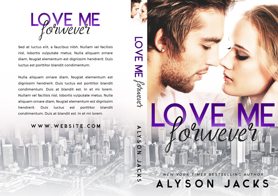 Love Me Forever - Romance Premade Book Cover For Sale @ Beetiful Book Covers