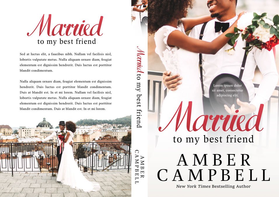 Married to My Best Friend - African-American Romance Premade Book Cover For Sale @ Beetiful Book Covers
