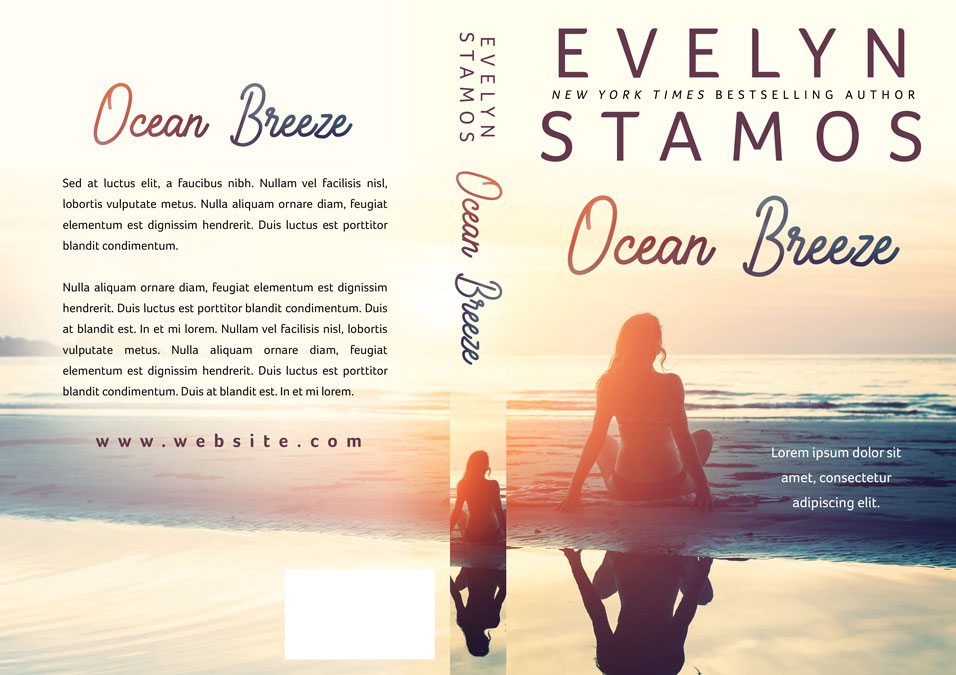 Ocean Breeze - Women's Fiction / Romance Premade Book Cover For Sale @ Beetiful Book Covers