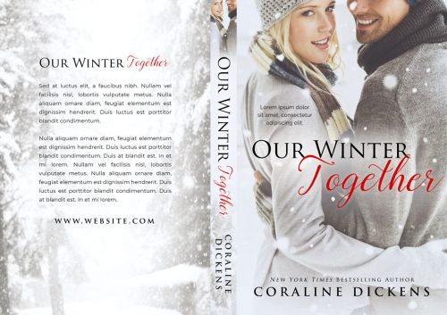 Our Winter Together - Winter Romance Premade Book Cover For Sale @ Beetiful Book Covers