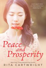Peace and Prosperity – Asian-American Women's Fiction Premade Book Cover For Sale @ Beetiful Book Covers