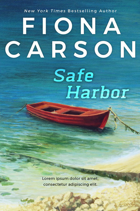 Safe Harbor - Women's Fiction / Cozy Mystery Premade Book Cover For Sale @ Beetiful Book Covers