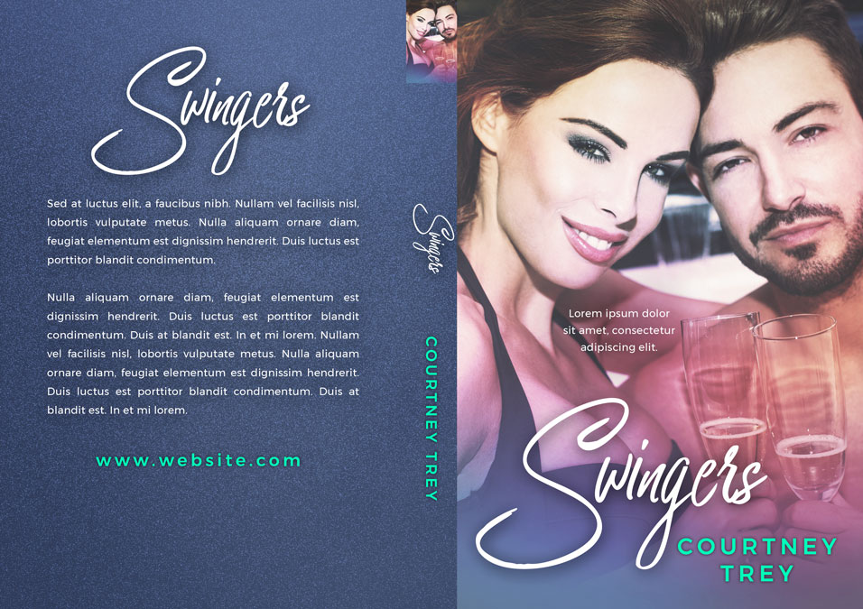 Swingers - Romance Premade Book Cover For Sale @ Beetiful Book Covers
