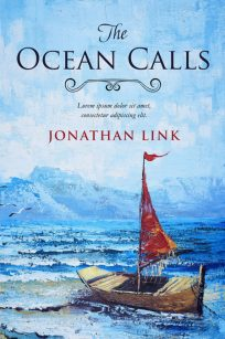 The Ocean Calls - Women's Fiction Premade Book Cover For Sale @ Beetiful Book Covers