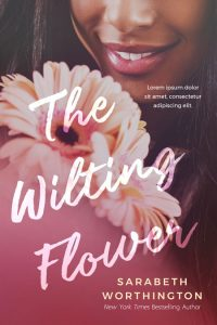 The Wilting Flower - African-American Women's Fiction Premade Book Cover For Sale @ Beetiful Book Covers