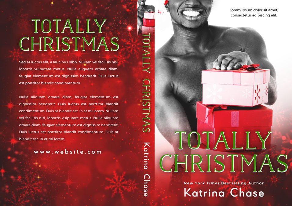 Totally Christmas - Christmas Premade Book Cover For Sale @ Beetiful Book Covers