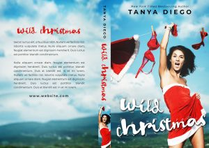 Wild Christmas - Christmas Chicklit Premade Book Cover For Sale @ Beetiful Book Covers