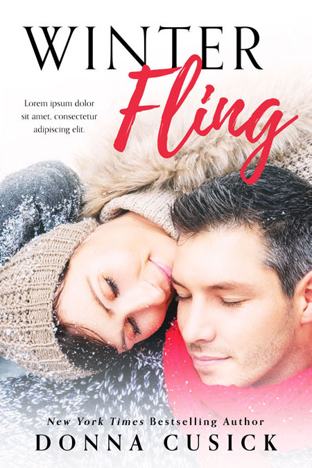 Winter Fling - Winter Romance Premade Book Cover For Sale @ Beetiful Book Covers