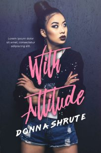 With Attitude - Asian-American Fiction Premade Book Cover For Sale @ Beetiful Book Covers