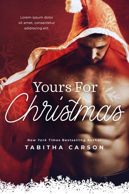 Yours For Christmas - Christmas Romance Premade Book Cover For Sale @ Beetiful Book Covers