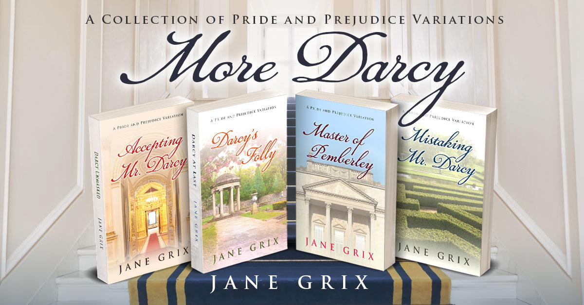 Showcase Spotlight: More Darcy by Jane Grix