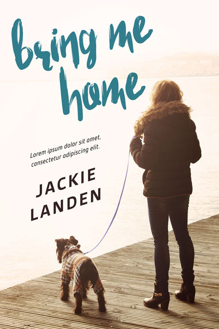 Bring Me Home - Dog Fiction Premade Book Cover For Sale @ Beetiful Book Covers