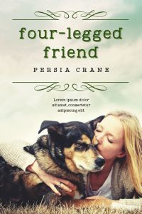 Four-Legged Friend - Dog Fiction Premade Book Cover For Sale @ Beetiful Book Covers