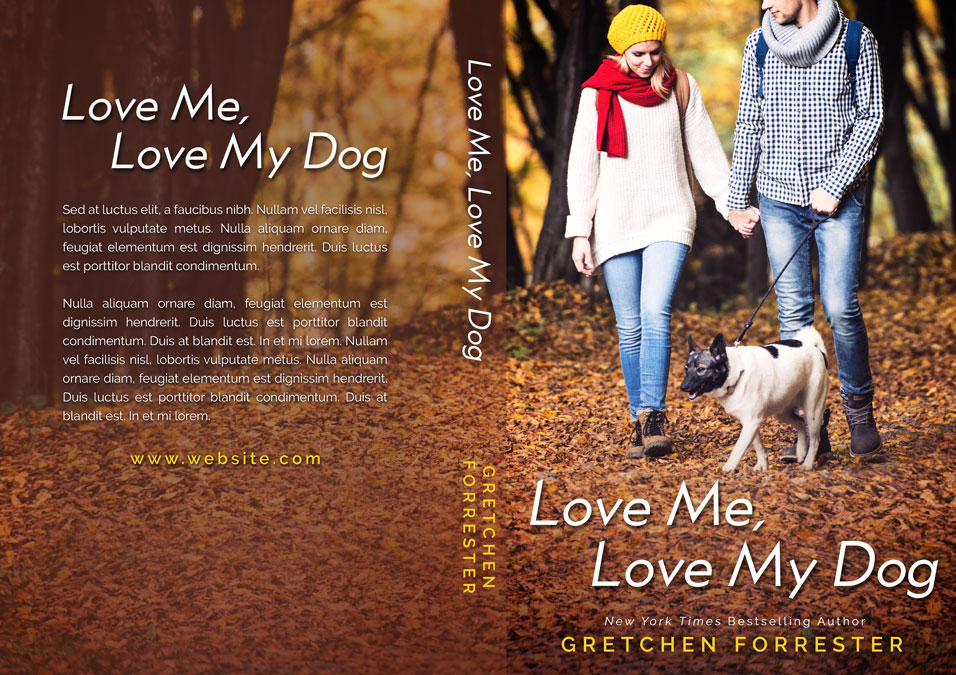 Love Me, Love My Dog - Pet Romance Premade Book Cover For Sale @ Beetiful Book Covers