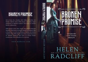 Broken Promise - Historical Romance Premade Book Cover For Sale @ Beetiful Book Covers