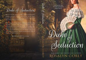 Duke of Seduction - Historical Romance Premade Book Cover For Sale @ Beetiful Book Covers