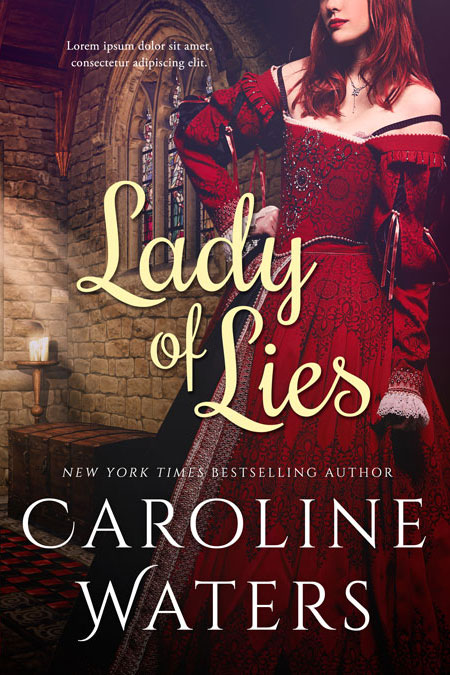 Lady of Lies - Historical Romance / Fantasy Premade Book Cover For Sale @ Beetiful Book Covers