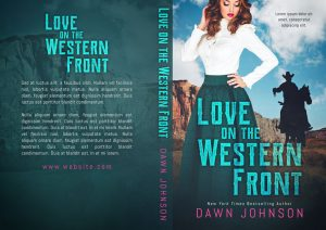 Love on the Western Front - Historical Western Romance Premade Book Cover For Sale @ Beetiful Book Covers
