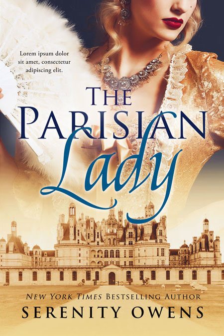 The Parisian Lady - Historical Premade Book Cover For Sale @ Beetiful Book Covers