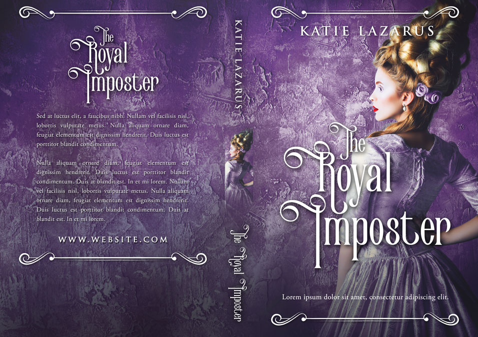 The Royal Imposter - Historical Premade Book Cover For Sale @ Beetiful Book Covers