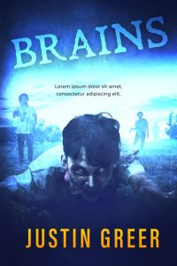 Brains - Horror Premade Book Cover For Sale @ Beetiful Book Covers