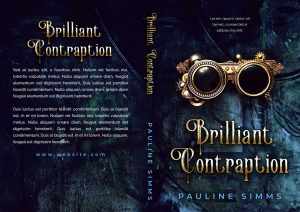 Brilliant Contraption - Science Fiction Premade Book Cover For Sale @ Beetiful Book Covers