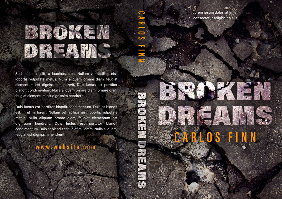 Broken Dreams - Mystery Pre-made Book Cover For Sale @ Beetiful Book Covers