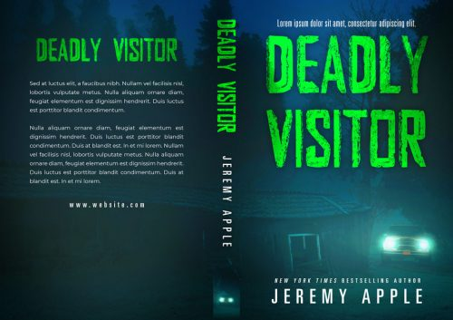 Deadly Visitor - Horror Book Cover For Sale @ Beetiful Book Covers