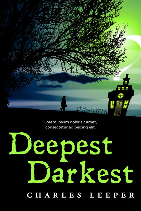 Deepest Darkest - Horror Premade Book Cover For Sale @ Beetiful Book Covers