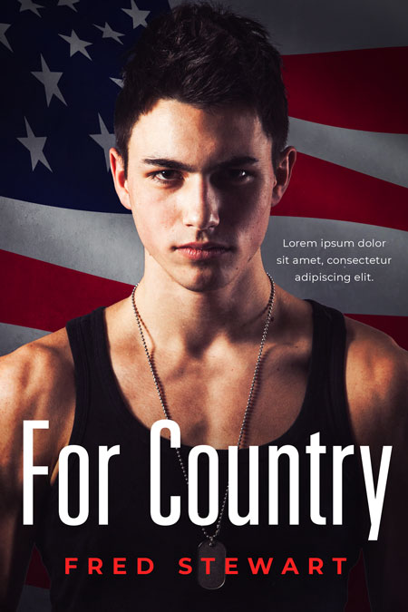 For Country - Action / Military Book Cover For Sale @ Beetiful Book Covers