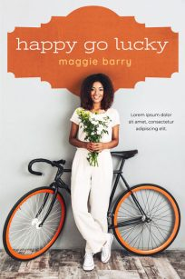 Happy Go Lucky - African-American Chicklit Premade Book Cover For Sale @ Beetiful Book Covers