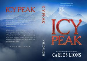 Icy Peak - Mystery / Thriller Premade Book Cover For Sale @ Beetiful Book Covers