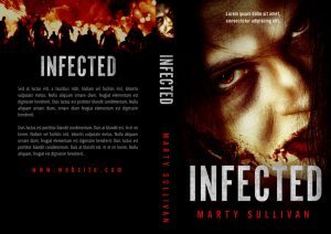 Infected - Horror Premade / Predesigned Book Cover For Sale @ Beetiful Book Covers