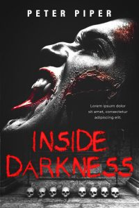 Inside Darkness - Horror Premade / Predesigned Book Cover For Sale @ Beetiful Book Covers