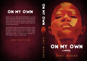 On My Own - African-American Fiction Premade Book Cover For Sale @ Beetiful Book Covers