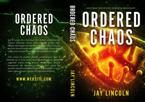 Ordered Chaos - Science-fiction Premade Book Cover For Sale @ Beetiful Book Covers